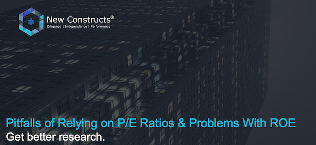 """Webinar: """"Pitfalls of Relying on P/E Ratios & Problems with ROE"""" – Hosted by TD Ameritrade"""