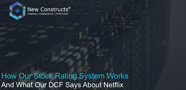 """Webinar: """"How our Stock Rating System Works & What Our DCF Says About Netflix"""" – Hosted by TD Ameritrade"""