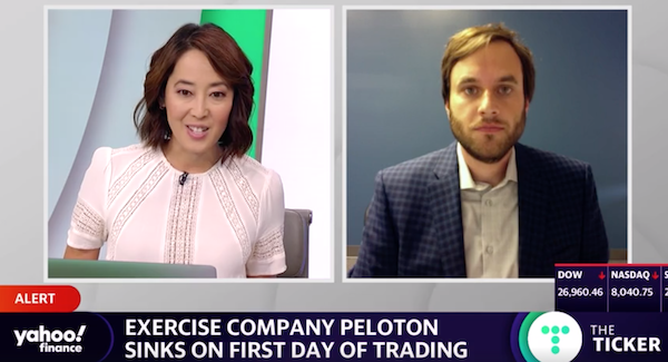 We Analyze Peloton's IPO On Yahoo Finance